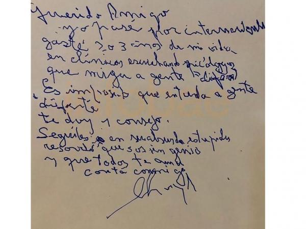 carta maradona